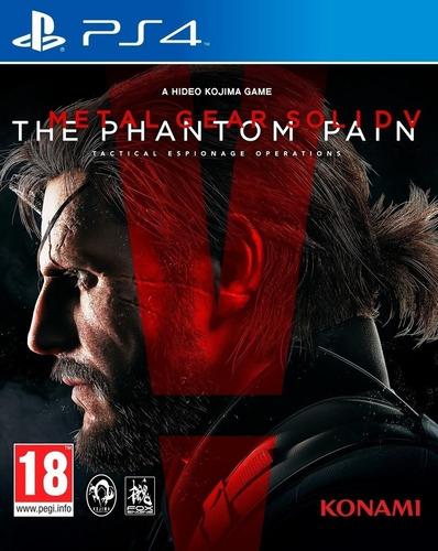 Metal Gear Solid V The Phantom Pain Ps4 Juga Con Tu Usuario
