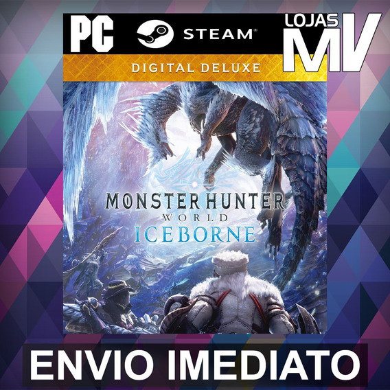 Monster Hunter World Iceborne Digital Deluxe Pc Steam Gift