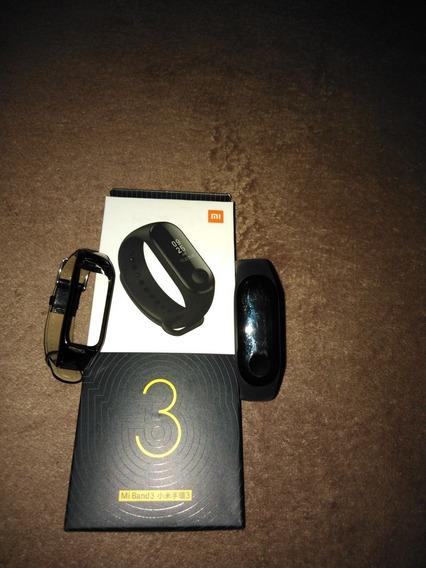Mi Band 3 Xiaomi Con Correa De Cuero