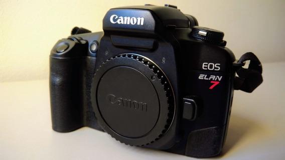 Câmera Canon Eos Elan 7 + Carregador E Baterias