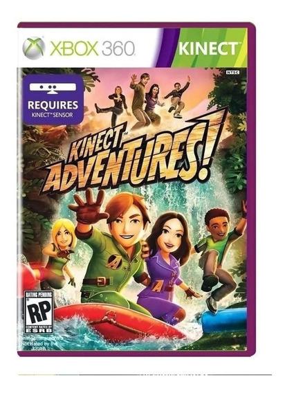 Kinect Adventures Xbox 360 - Original - Usado