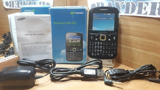 Samsung Chat 222 Negro Movistar -- Envío Gratis --