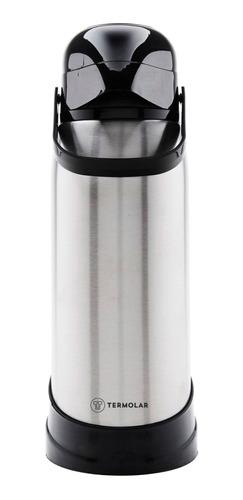Imagem 1 de 5 de Garrafa Térmica 100% Inox R-evolution 1.9l Bomba Pressão