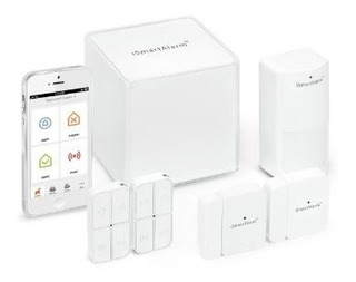 Ismartalarm Preferred Home Security Package | Wireless Diy S