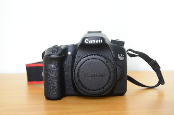 Canon Eos 70d Dslr Somente Corpo
