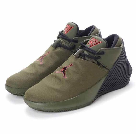 Tenis Nike Jordan Why Not Zero Verde Militar # Disponibles #