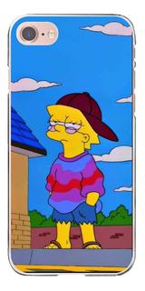 Funda Para Celular - Simpson - Lisa - Huawei