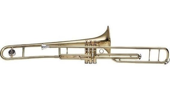 Bb Trombon Tenor A Piston + Estuche Stagg Wstb285s