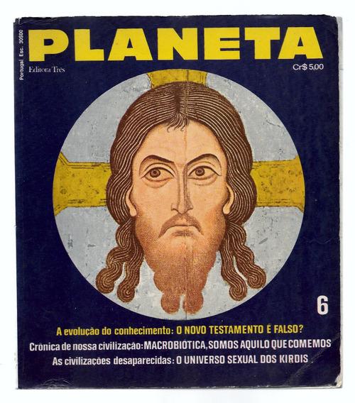 Luc029 Revista Planeta Nº 6 - Editora 3 - Fevereiro 1973