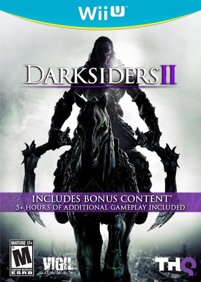 Darksiders 2 Wiiu Lacrado Mídia Física Original Pronta Entre