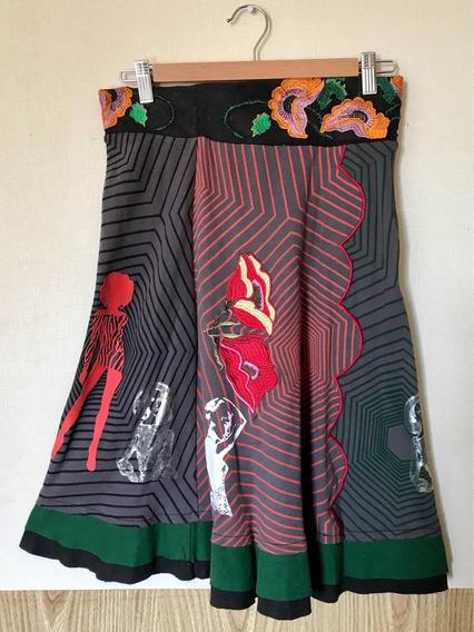 Hermosa Falda Marca Desigual