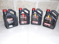 Cambio De Aceite Y Filtro! Motul 6100/8100 Semi O Sintetico