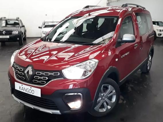 Renault Kangoo Ii Zen 1.6 0km 2020 Contado Financiado Blanco