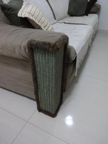 Protetor De Sofa E Cama Box Arranhador Para Gatos Colorido