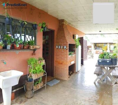Casa De Campo Com 5 Dormitórios À Venda, 182 M² Por R$ 318.000 - Mantiqueira - Mairiporã/sp - Ca0695