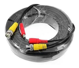 Cable Bnc Cctv Para Camara Seguridad 30metros / Pcprime