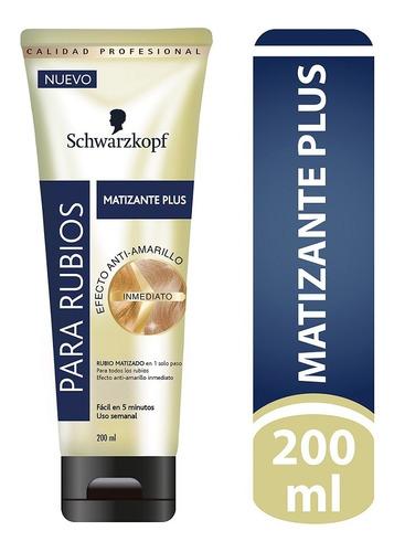 Matizante Plus Schwarzkopf Efecto Anti-amarillo