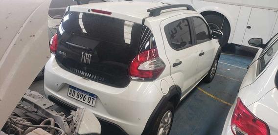 Fiat Mobi Way Chocado Baja Con Alta De Motor