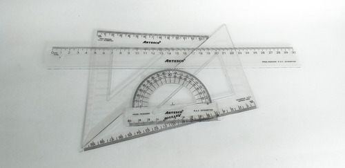 Imagen 1 de 2 de Juego De Geometría Tradicional. Artesco