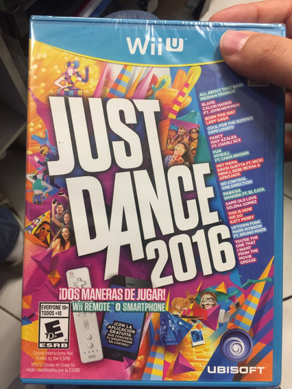 Wiiu Just Dance 2016