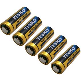 Kit C/ 05 Baterias / Pilhas Alcalina 12v A23 P/ Portão
