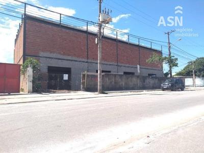 Lojão Com 480 M² Em Frente A Rodovia, Pé Direito De 8 Metros, Banheiro, Bem Localizado - Village - Rio Das Ostras - Lo0037