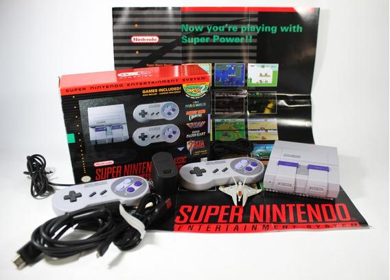 Console Super Nintendo Classic Mini [ Original ] Snes 21 Jog