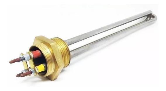 Resistência Elétrica Boiler Aquecedor 1.1/4 6000w 220v 2 U