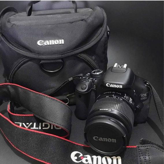 Câmera Fotográfica Profissional Canon Eos 600d