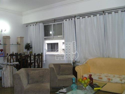 Apartamento Com 3 Dormitórios À Venda, 142 M² Por R$ 1.400.000,00 - Copacabana - Rio De Janeiro/rj - Ap0069