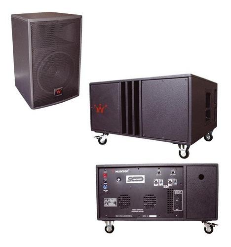 Imagen 1 de 6 de Suprem-8 Sistema Procesado Musicson