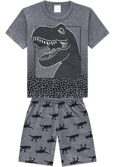 Pijama Infantil Kyly Menino Dinossauro