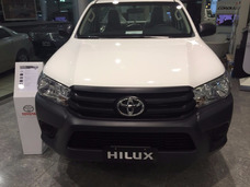 Toyota Hilux Cabina Simple 4x4 Blanca Entrega Noviembre