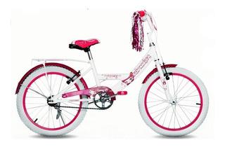 Bicicleta Cross Topmega Princess R20 Nena Envio Gratis