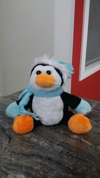 Pinguim De Pelúcia 15cm