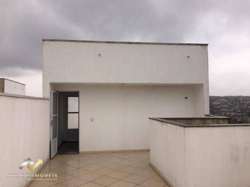 Cobertura  Sem Condominio Com 2 Dormitórios À Venda, 76 M² Por R$ 240.000 - Parque Novo Oratório - Santo André/sp - Co0900