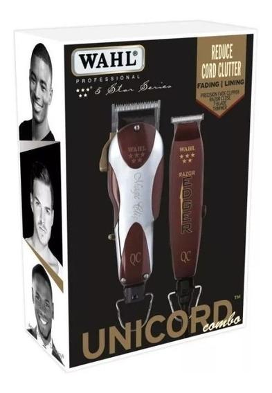 Oferta Combo Unicord Máquina Wahl Magic Clip Barbería