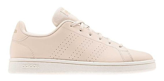 Tenis Casuales adidas Advantage Base Beige Mujer 830994