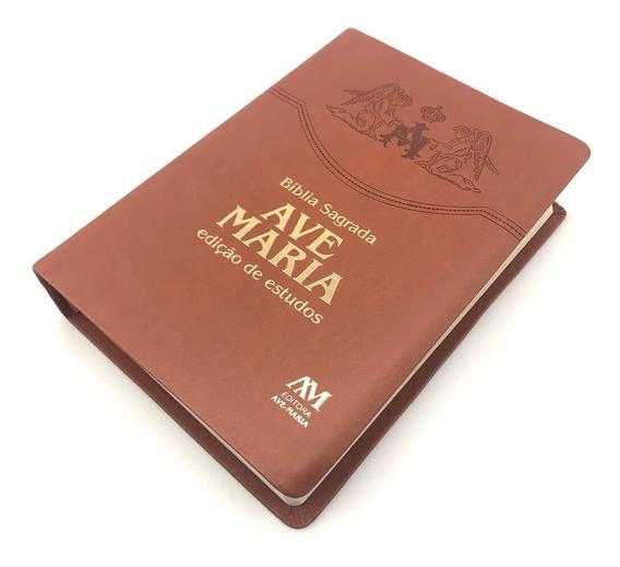 Bíblia Sagrada Edição De Estudos Católica Ave Maria