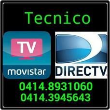 Servicio Tecnico Directv Y Movistar Puerto Ordaz Y San Felix