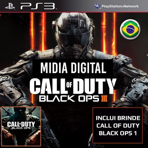 Ps3 Psn* - Call Of Duty Black Ops 3 Cod Bo3 & Black Ops 1