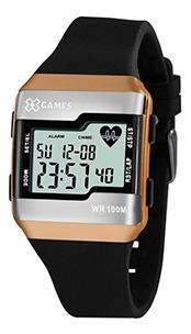 Relógio Unissex Monitor Cardíaco Xgames 100m Garantia + Nf