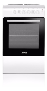 Cocina Electrica Atma Cce3110b 4 H 50 Cm Horno Blanca Cuotas