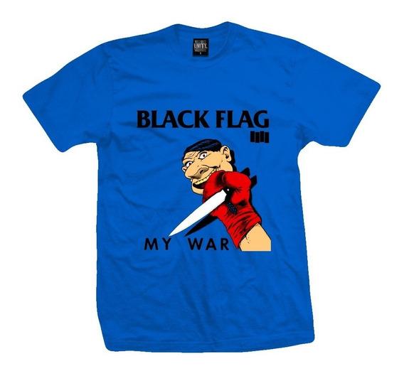 Remera Black Flag - My War-