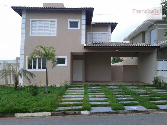 Casa Residencial À Venda, Condomínio Bosque Dos Cambarás, Valinhos. - Ca0097