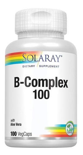 Solaray B-complex 100 Sist Inmunitario Cabello Piel Sano
