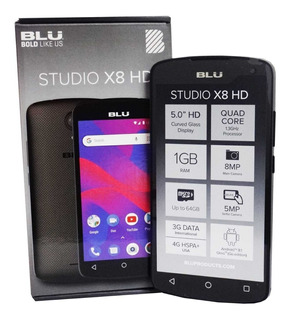 Telefono Blu Studio X8 Hd Android Dual Sim Liberado