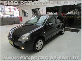 Clio Privilege 1.0 - Ano 2004 - Bem Conservado