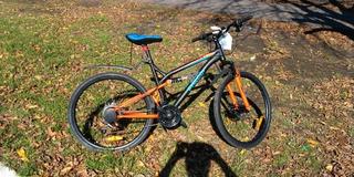 Bicicleta Philco R26 21 Vel Cambios Shimano Dobl Suspención