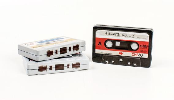 Fitas Cassetes Decorativas (lata)